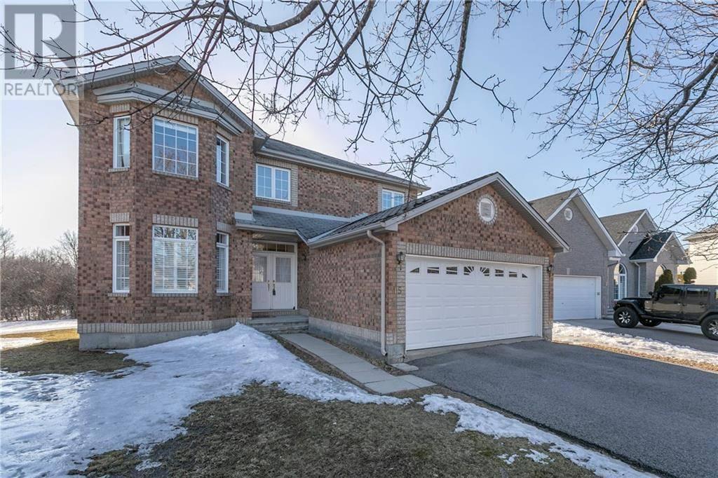 House for sale at 15 Warnock Ct Ottawa Ontario - MLS: 1186432