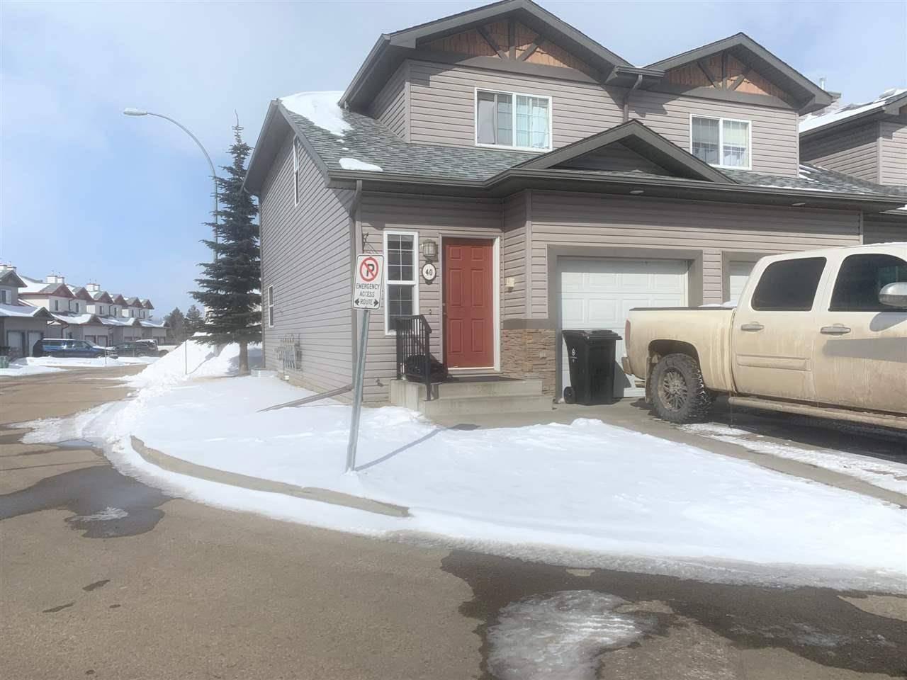 Townhouse for sale at 15 Woodsmere Cs Fort Saskatchewan Alberta - MLS: E4192994