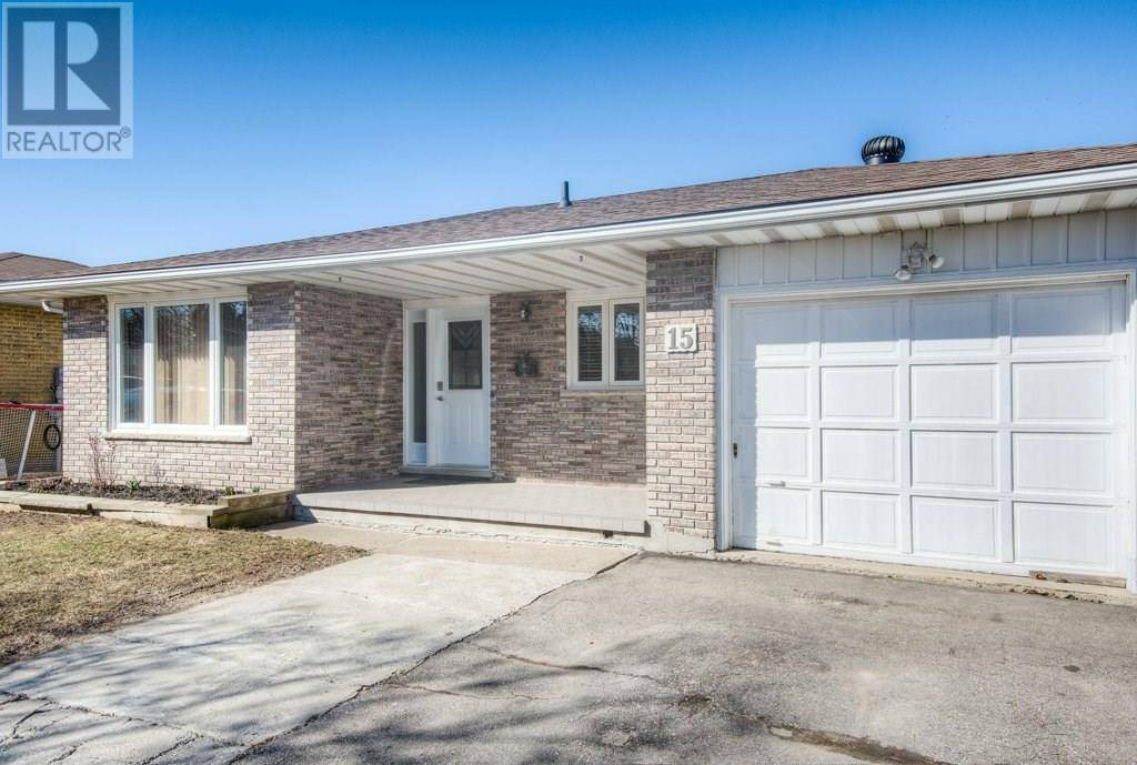 House for sale at 15 Wordsworth Pl Kitchener Ontario - MLS: 30802019