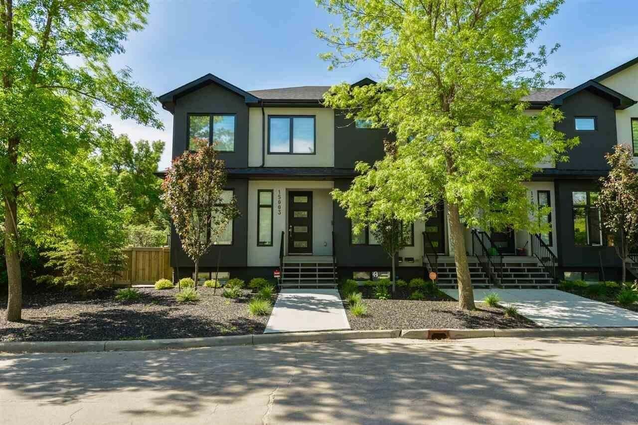 Townhouse for sale at 15003 108 Av NW Edmonton Alberta - MLS: E4201722