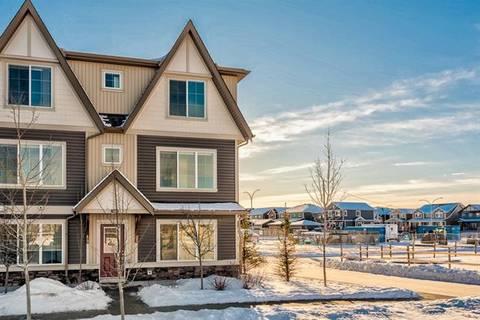 Townhouse for sale at 250 Fireside Vw Unit 1501 Cochrane Alberta - MLS: C4287149