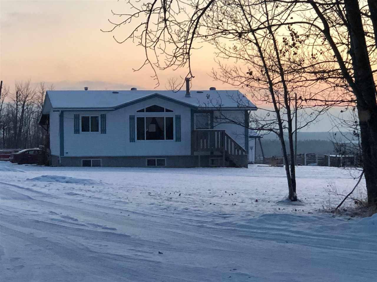 House for sale at 1501 Twp 582 Rd Rural Barrhead County Alberta - MLS: E4182805