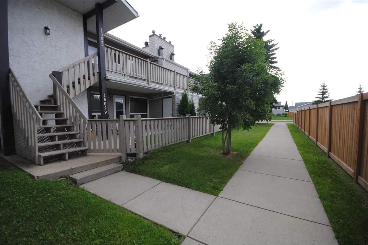 Townhouse for sale at 15027 26 St NW Edmonton Alberta - MLS: E4207649