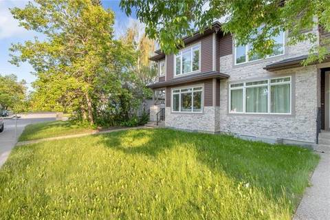 Townhouse for sale at 1505 22 Ave Northwest Calgary Alberta - MLS: C4255543