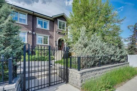 Townhouse for sale at 1506 33 Ave Southwest Calgary Alberta - MLS: C4249079