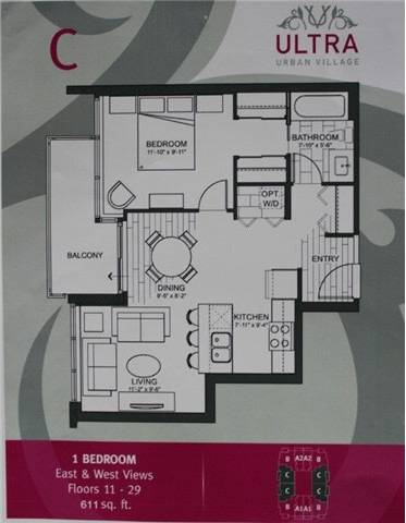 Condo for sale at 13325 102a Ave Unit 1507 Surrey British Columbia - MLS: R2435669