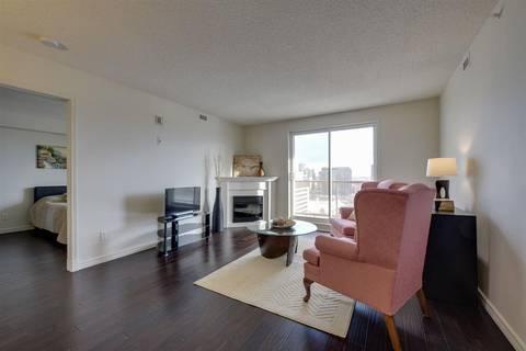 Condo for sale at 9741 110 St Nw Unit 1507 Edmonton Alberta - MLS: E4149657