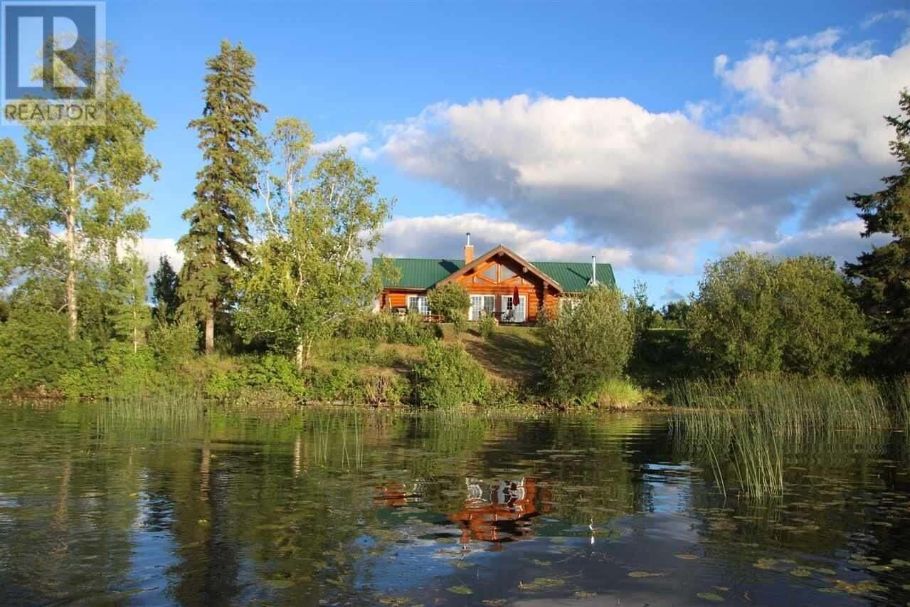 House for sale at 15092 Tachick Lake Rd Vanderhoof British Columbia - MLS: R2455406