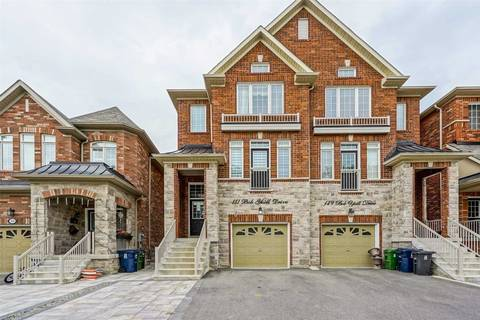 Townhouse for sale at 151 Bob Yuill Dr Toronto Ontario - MLS: W4477078