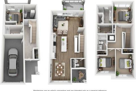 Townhouse for sale at 151 Crestridge Common Southwest Calgary Alberta - MLS: C4233110