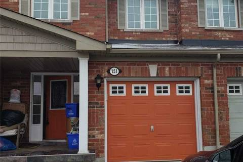Townhouse for rent at 151 Crystal Glen Cres Brampton Ontario - MLS: W4665875
