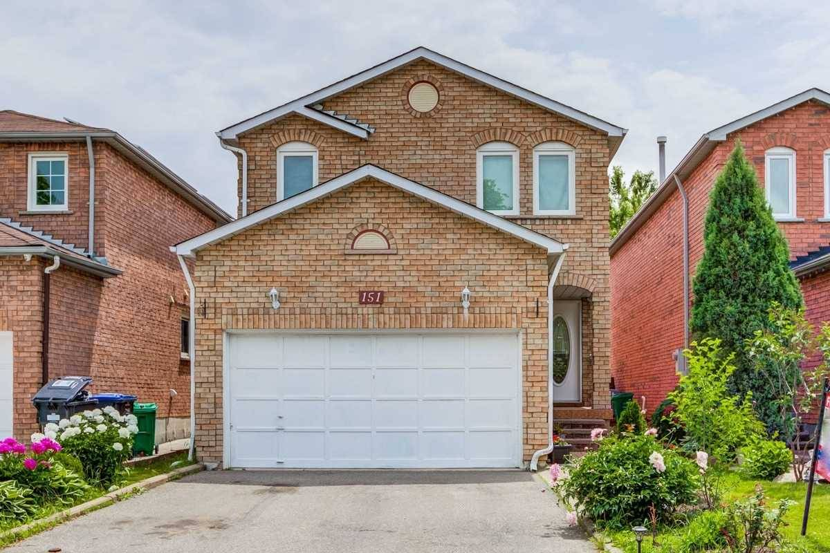 House for sale at 151 Ecclestone Dr Brampton Ontario - MLS: W4493699