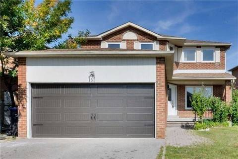 House for sale at 151 Havelock Dr Brampton Ontario - MLS: W4462255