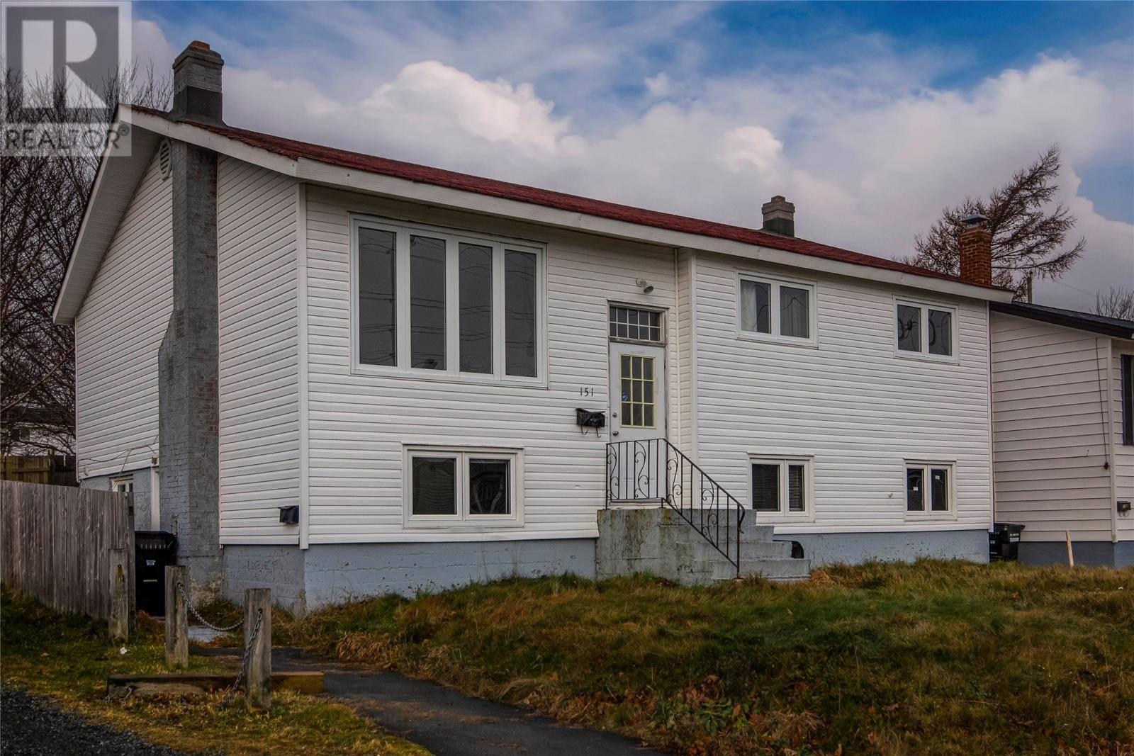 House for sale at 151 Higgins Line St. John's Newfoundland - MLS: 1208856