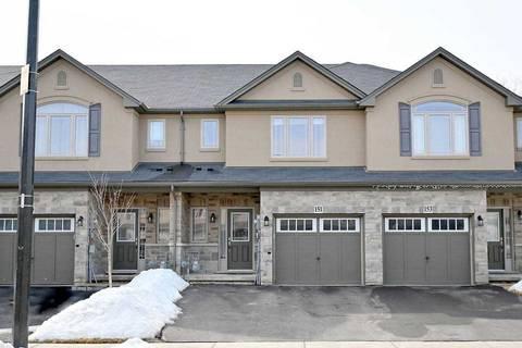 Townhouse for sale at 151 Kinsman Dr Hamilton Ontario - MLS: X4703305