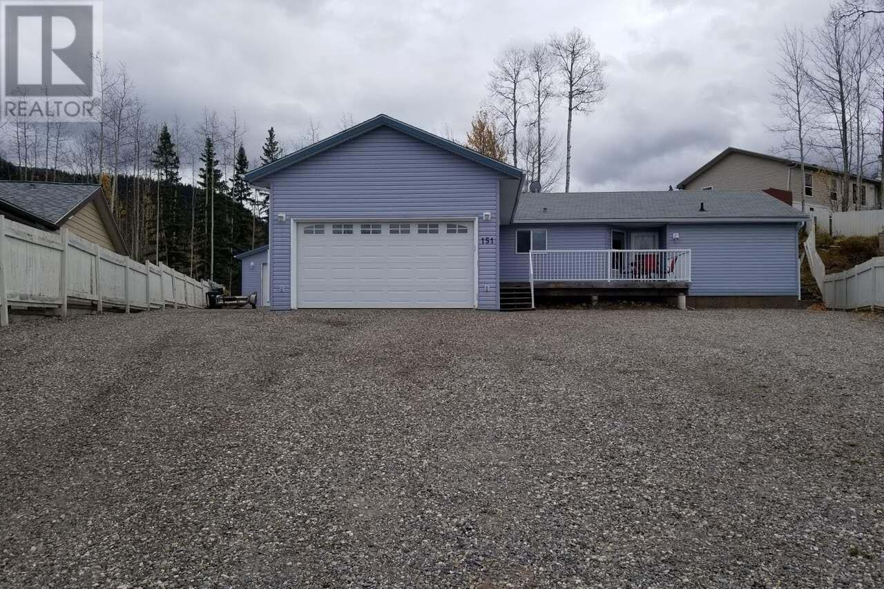 House for sale at 151 Kinuseo Ave Tumbler Ridge British Columbia - MLS: 186250