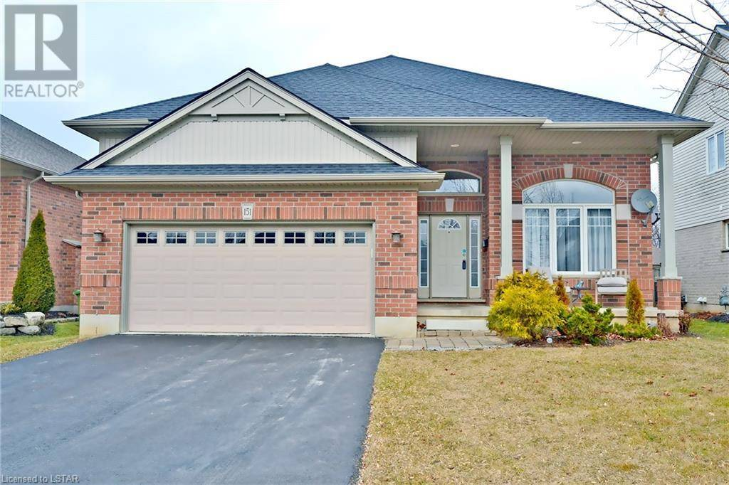 House for sale at 151 Lake Margaret Tr St. Thomas Ontario - MLS: 232348