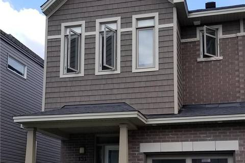 Townhouse for rent at 151 Overberg Wy Ottawa Ontario - MLS: 1155187