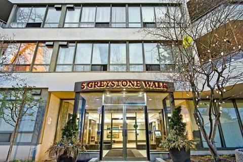 Condo for sale at 5 Greystone Walk Dr Unit 1510 Toronto Ontario - MLS: E4547613