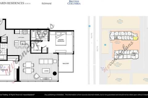 Condo for sale at 6188 No. 3 Rd Unit 1510 Richmond British Columbia - MLS: R2394491