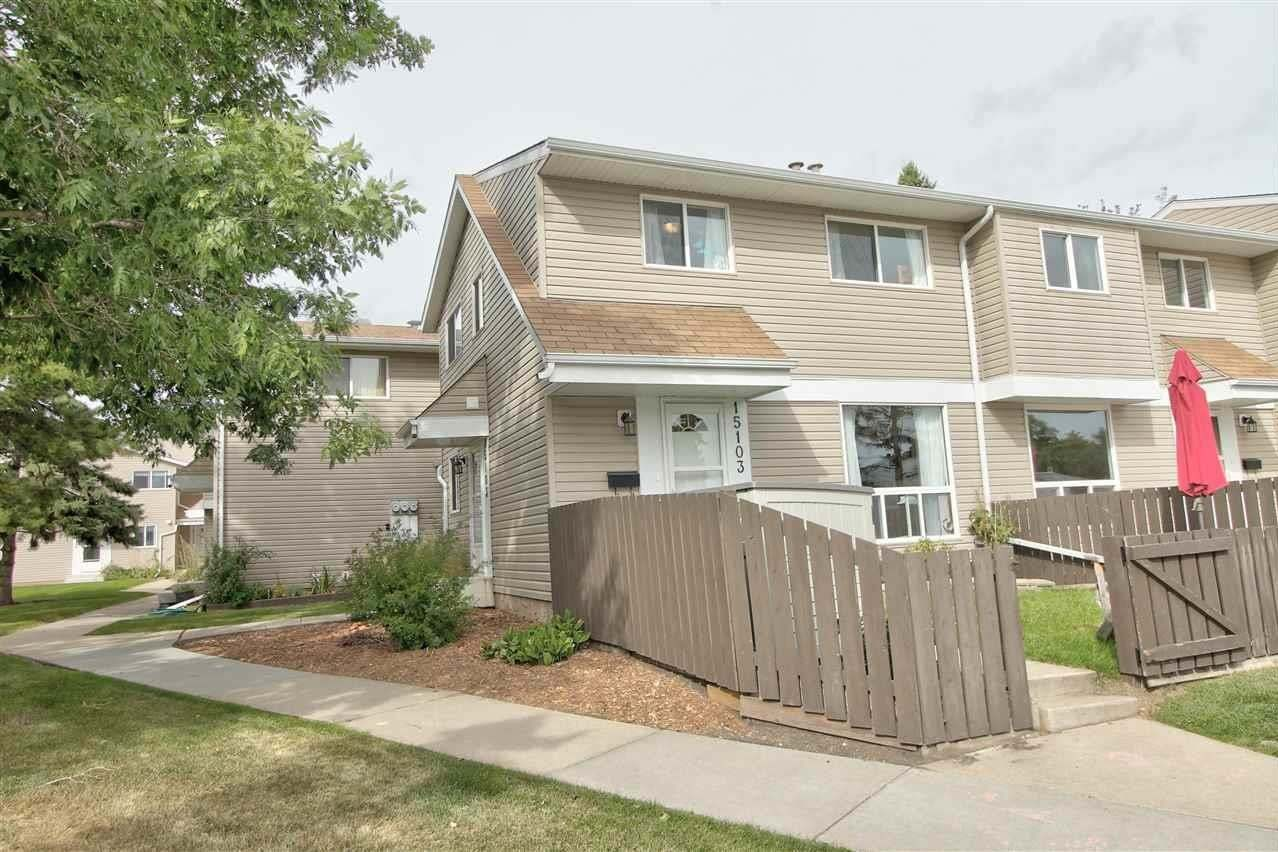 Townhouse for sale at 15103 54 St NW Edmonton Alberta - MLS: E4212443