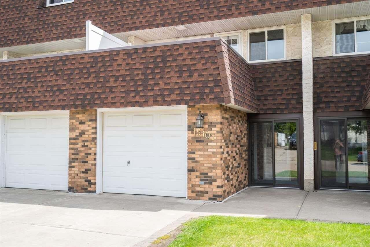 Townhouse for sale at 15107 115 St NW Edmonton Alberta - MLS: E4198692