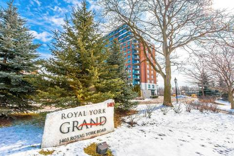 Apartment for rent at 1403 Royal York Rd Unit 1511 Toronto Ontario - MLS: W4690149