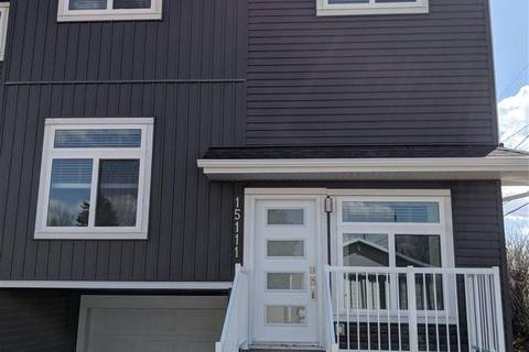 Townhouse for sale at 15111 103 Ave Nw Edmonton Alberta - MLS: E4156781