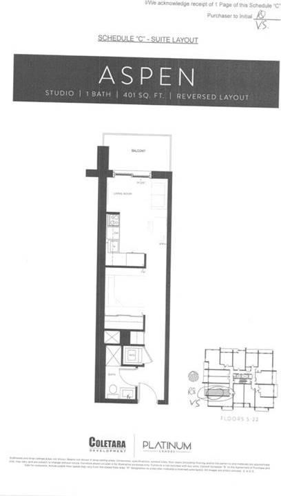 Condo for sale at 15 Queen St Unit 1512 Hamilton Ontario - MLS: X4662046