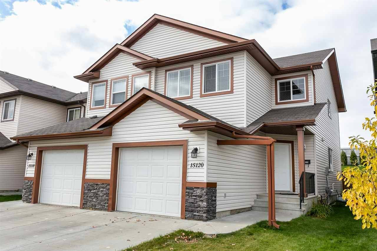 Townhouse for sale at 15120 33 St Nw Edmonton Alberta - MLS: E4183996