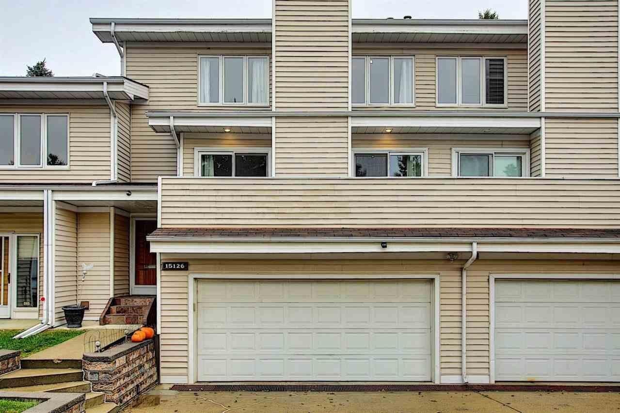 Townhouse for sale at 15126 45 Av NW Edmonton Alberta - MLS: E4219666