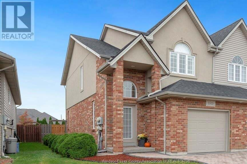 Townhouse for sale at 1515 Durocher  Lasalle Ontario - MLS: 20014060