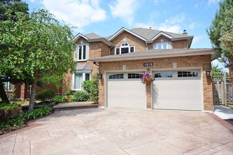 House for sale at 1515 Manorbrook Ct Mississauga Ontario - MLS: W4595126