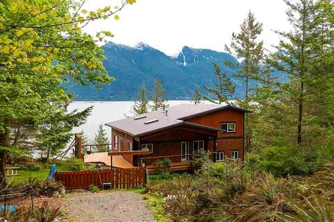 House for sale at 1518 Mount Artaban Rd Gambier Island British Columbia - MLS: R2454777