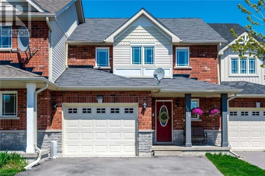 Townhouse for sale at 1519 Ireland Dr Peterborough Ontario - MLS: 260526