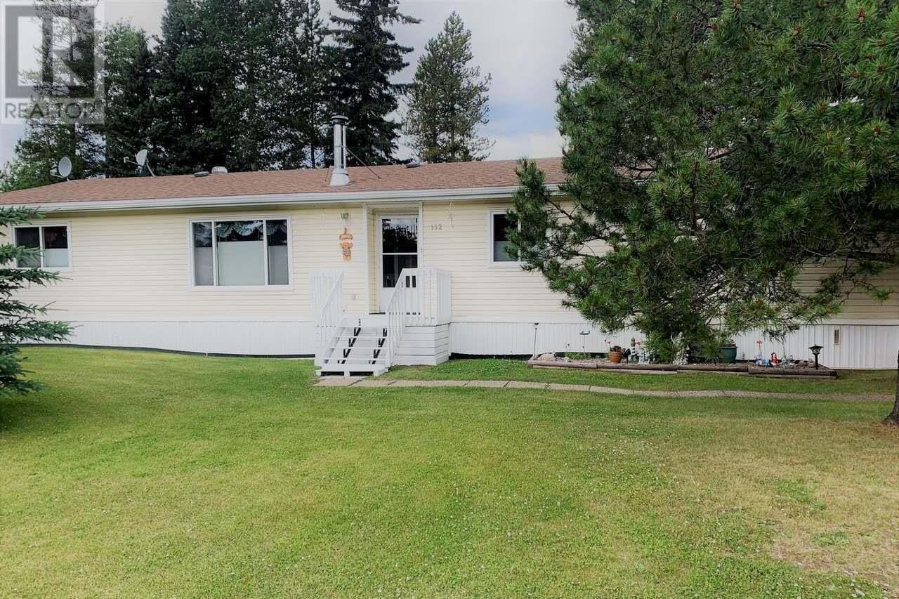 House for sale at 152 Ash Cres Tumbler Ridge British Columbia - MLS: 185504