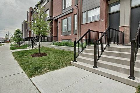 Townhouse for sale at 152 Frederick Tisdale Dr Toronto Ontario - MLS: W4497479