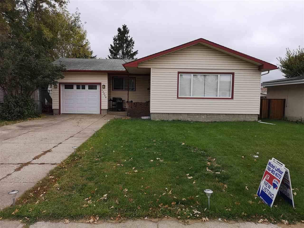 House for sale at 15208 93 St Nw Edmonton Alberta - MLS: E4176145