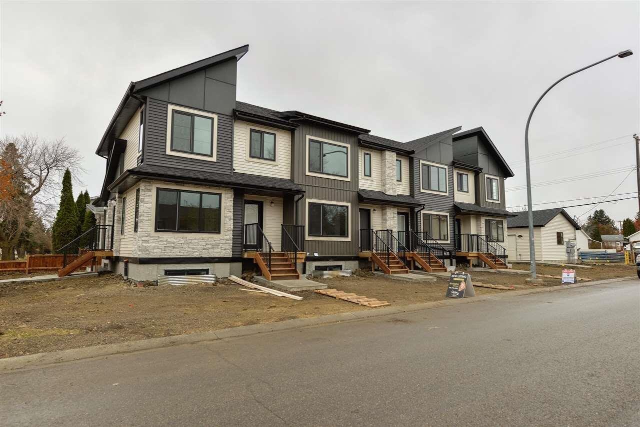 Townhouse for sale at 15209 103 Av NW Edmonton Alberta - MLS: E4219643