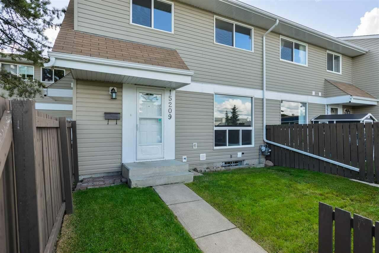 Townhouse for sale at 15209 54 St NW Edmonton Alberta - MLS: E4212002