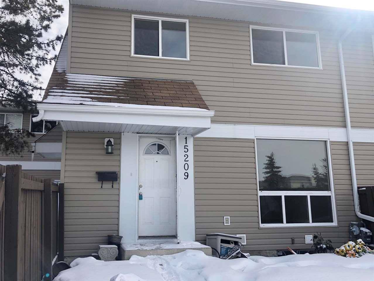 Townhouse for sale at 15209 54 St Nw Edmonton Alberta - MLS: E4192874