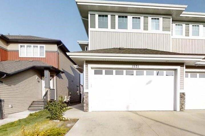 Townhouse for sale at 1521 21 St NW Edmonton Alberta - MLS: E4214885