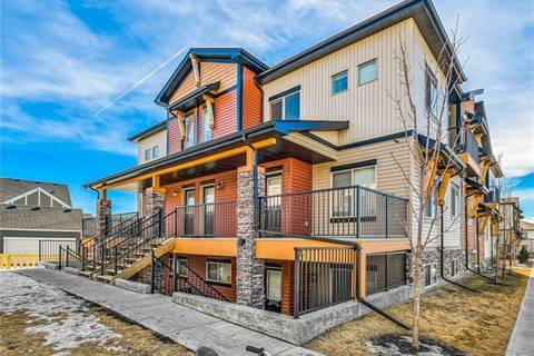 Townhouse for sale at 2461 Baysprings Li Southwest Unit 1521 Airdrie Alberta - MLS: C4234148