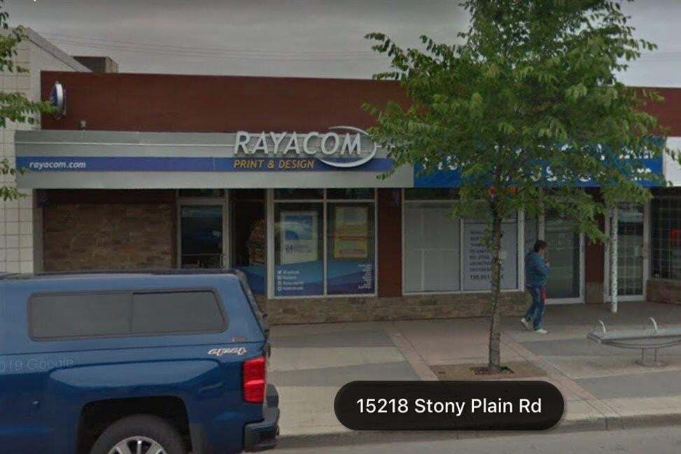 Commercial property for sale at 15216 Stony_plain Rd NW Edmonton Alberta - MLS: E4191305