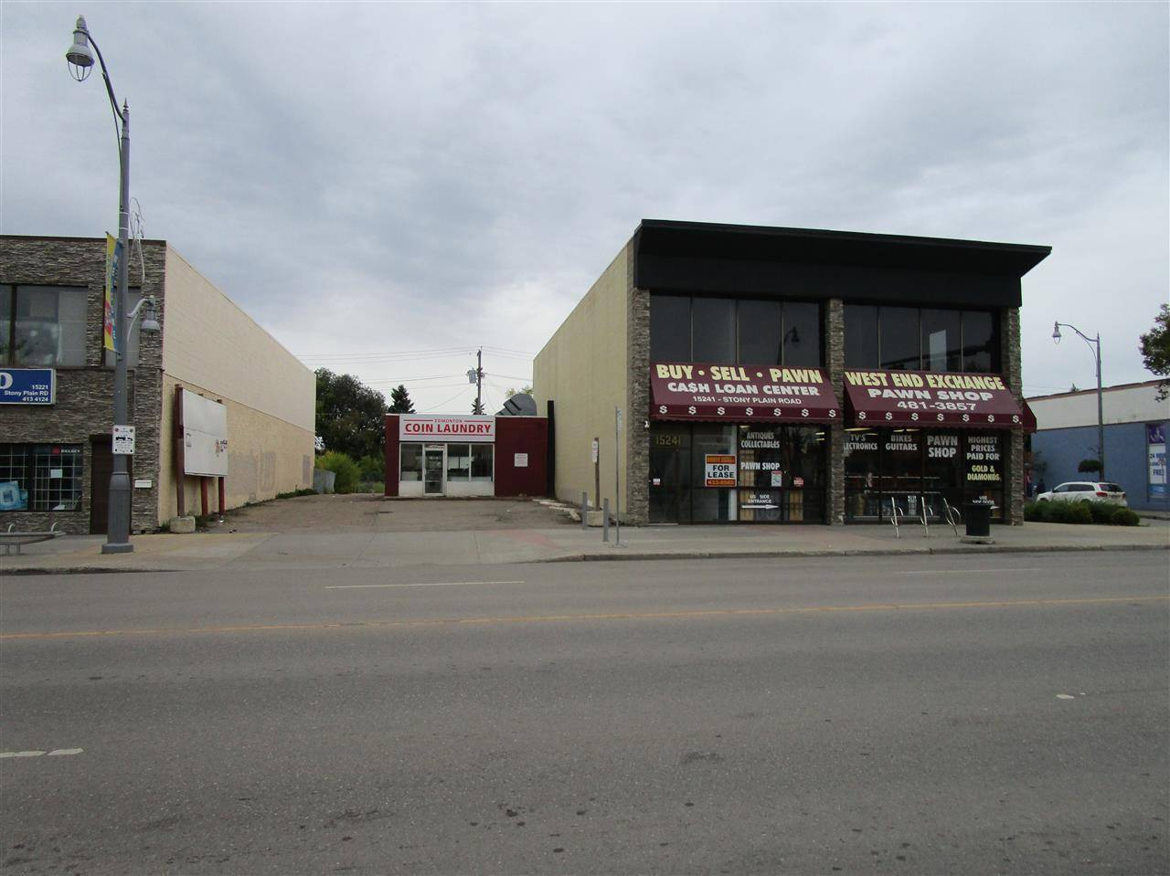 Commercial property for sale at 15229 Stony_plain Rd Nw Edmonton Alberta - MLS: E4175495