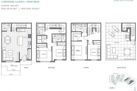 Townhouse for sale at 2035 Glenaire Dr Unit 153 North Vancouver British Columbia - MLS: R2480490