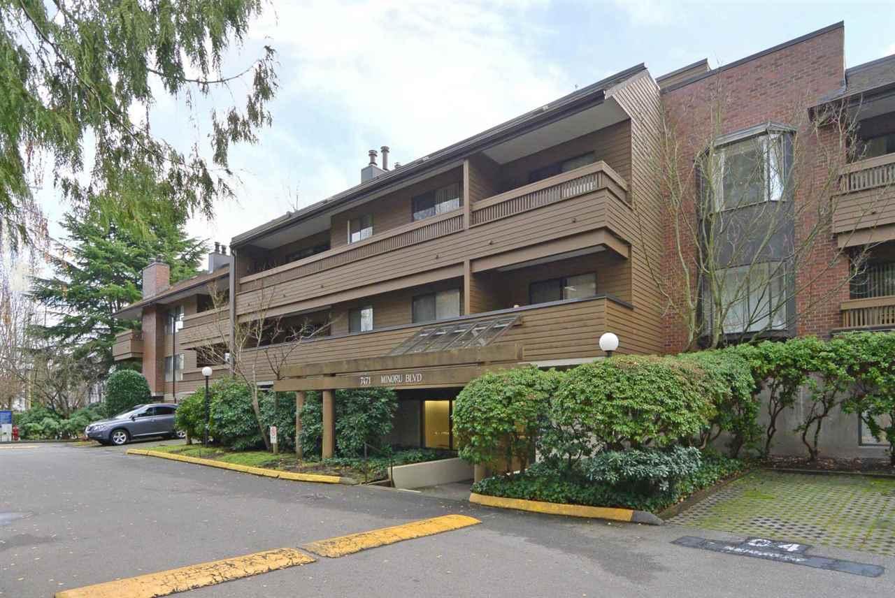 For Sale: 153 - 7471 Minoru Boulevard, Richmond, BC | 1 Bed, 1 Bath Condo for $388,000. See 16 photos!