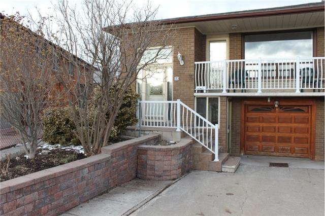 For Sale: 153 Cabana Drive, Toronto, ON | 3 Bed, 2 Bath Townhouse for $679,000. See 18 photos!