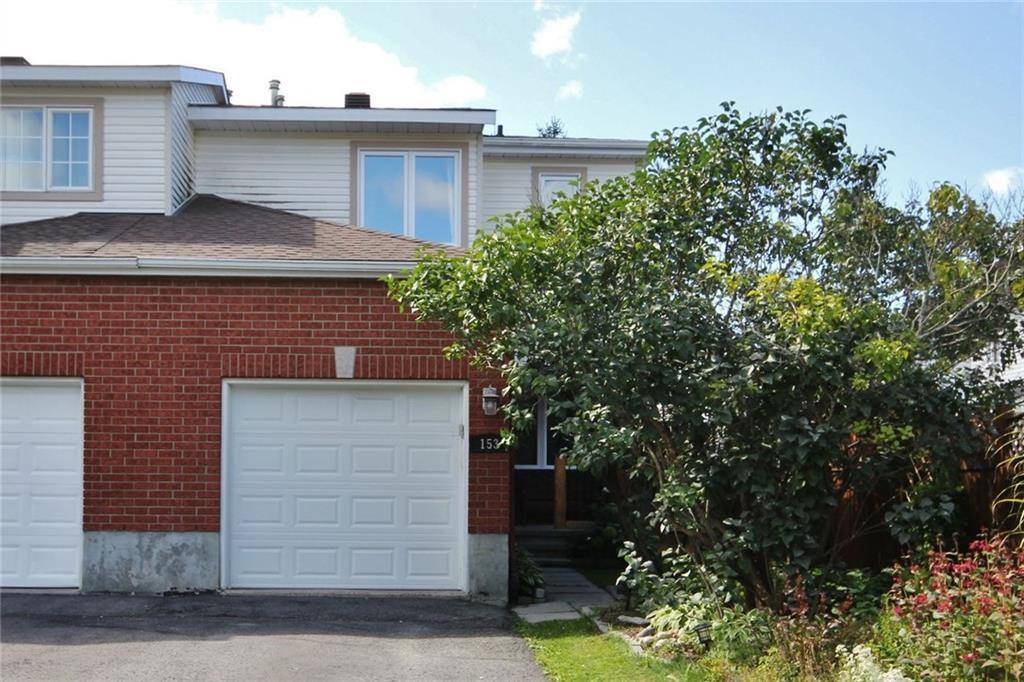 Townhouse for sale at 153 Daventry Cres Ottawa Ontario - MLS: 1168904