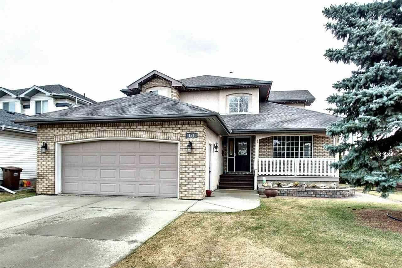 House for sale at 153 Deer Ridge Dr St. Albert Alberta - MLS: E4195115